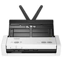 Brother ADS-1200 A4 Portable Sheetfed Document Scanner 600 x 600 dpi White, Black