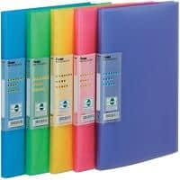 Pentel Recycology Vivid Display Book A4 30 Pockets Pack of 5