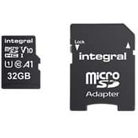 Integral Micro SDHC Flash Memory Card V10 32 GB