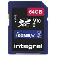 Integral SDXC Flash Memory Card V10 64 GB