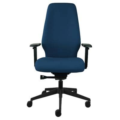 Ergonomic Office Chair Curacao Fabric Blue