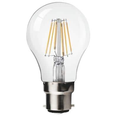 LyvEco Light Bulb Clear B22d 8 W Warm White