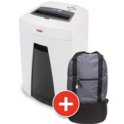 HSM SECURIO C18 Particle-Cut Shredder Security Level P-5 6-7 Sheets
