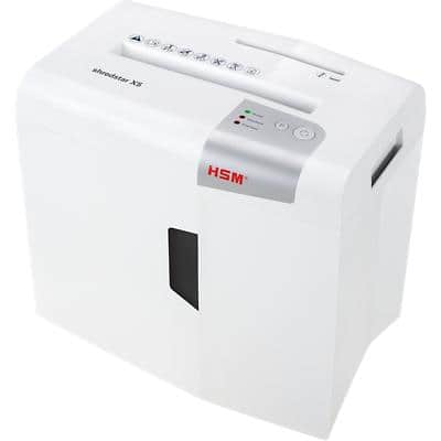 HSM Shredstar X5 Particle-Cut Shredder Security Level P-4 5 Sheets