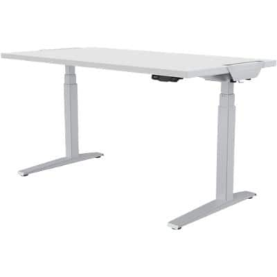 Fellowes Sit Stand Desk Levado White 800 x 1,400 x 640 - 1,257 mm