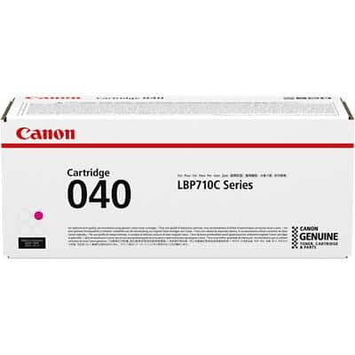 Canon 040 Original Toner Cartridge Magenta