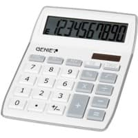GENIE Desktop Calculator 840 S 10 Digit Display Silver, Grey