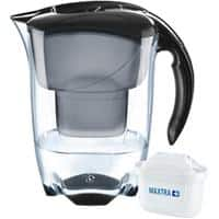 BRITA Water Filter Jug Elemaris 2.4 L Black