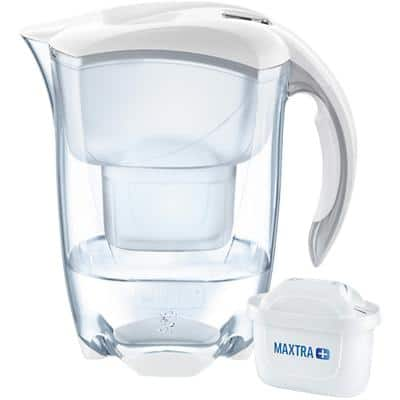 BRITA Water Filter Jug Elemaris 2.4 L White