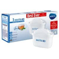 BRITA Filter Cartridges MAXTRA + White Pack of 3