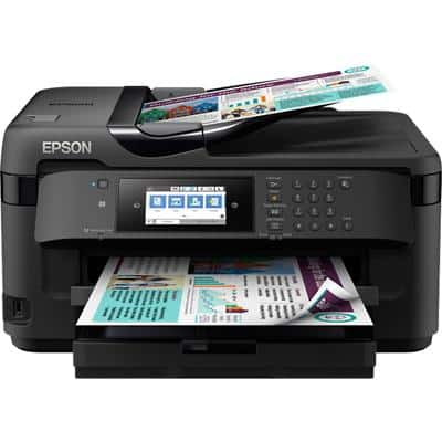 Epson WorkForce WF-7710DWF A3 Colour Inkjet 4-in-1 Printer with Wireless Printing