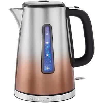 Russell Hobbs Electric Kettle Eclipse 15.8 x 22.5 x 24.5cm Copper Sunset
