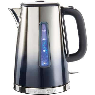 Russell Hobbs Electric Kettle Eclipse 15.8 x 22.5 x 24.5cm Midnight Blue