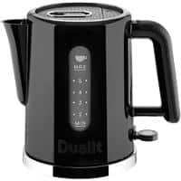 Dualit Cordless Electric Kettle 1.5L Black & Polished Trim 2000-2400W
