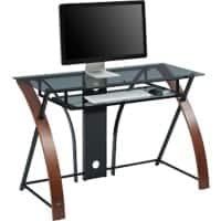 Connected Essentials Home Office Desk Severn Vibrant Espresso 1,200 x 610 x 760 mm