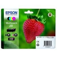 Epson Original Ink Cartridge 29 EasyMail T29864511 Black, Cyan, Magenta, Yellow Multipack of 4