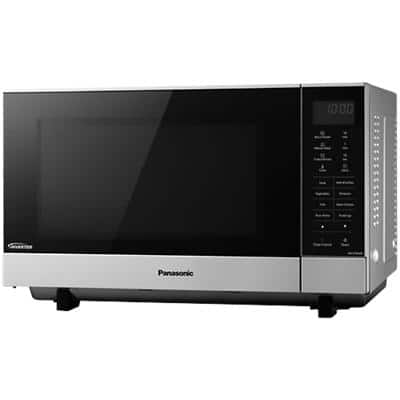Panasonic Microwave Oven Flatbed Design NN-SF464MBPQ 27L Silver