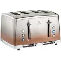 Russell Hobbs Toaster 4 Slices Eclipse Copper Sunset