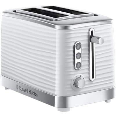 Russell Hobbs Toaster RH4370 16.5 x 29.5 x 19.5 cm White