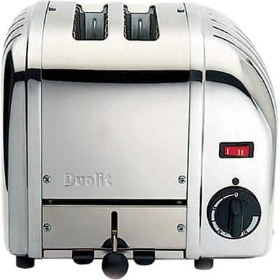 Dualit Toaster 2 Slices Stainless Steel Vario 1200W Silver