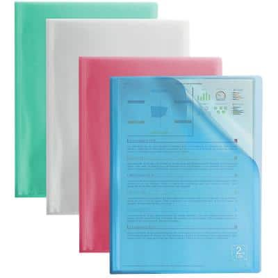 ELBA Display Book 2nd Life A4 Assorted Polypropylene 4 Pieces