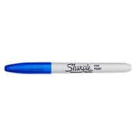 Sharpie Fine Permanent Marker Fine Bullet Blue Pack of 12