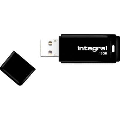 Integral USB 2.0 Flash Drive 16 GB Black