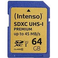 Intenso SDHC Flash Memory Card UHS-I Premium 64 GB