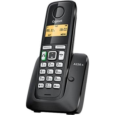 Gigaset Cordless Phone A220A Single Black