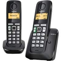 Gigaset A220A Duo Cordless Telephone Black