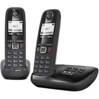 Gigaset Telephone AS405A Twin Black