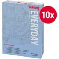 Viking Everyday Copy Paper A4 80gsm White 10 Packs of 500 Sheets
