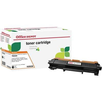 Compatible Office Depot Brother TN2420 Toner Cartridge Black