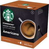 NESCAFÉ Dolce Gusto Starbucks Americano House Coffee Capsules Pack of 12