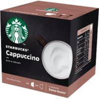 NESCAFÉ Dolce Gusto Starbucks Coffee Cappuccino 12 Pieces of 10 g