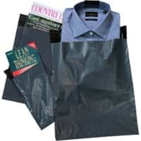 tenza Mailing Bags Dark Grey 30 x 35 cm 500 Pieces