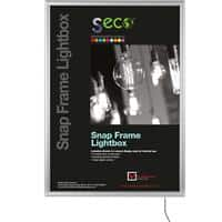 Stewart Superior Wall Mountable Lightbox 65 x 90 cm Silver