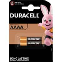 Duracell AAAA Batteries LR8D425 Ultra 1.5V Alkaline 2 Pieces