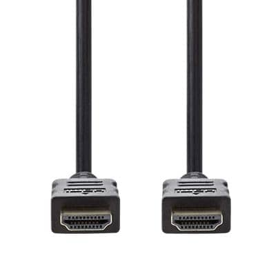 nedis HDMI Cable CVGP34000BK10 Black 1 m