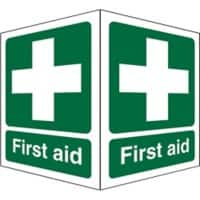 First Aid Sign First Aid Acrylic 20 x 15 cm