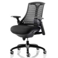 dynamic Ergonomic Office Chair Flex Fabric Black