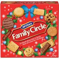 McVitie's Family Circle Biscuits 620g