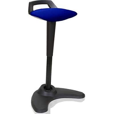 dynamic Stool with Adjustable Seat Spry Stevia Blue