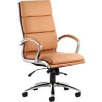 dynamic Executive Chair Classic Synchro Tilt Brown