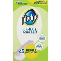 Pledge Duster White 5 Pieces