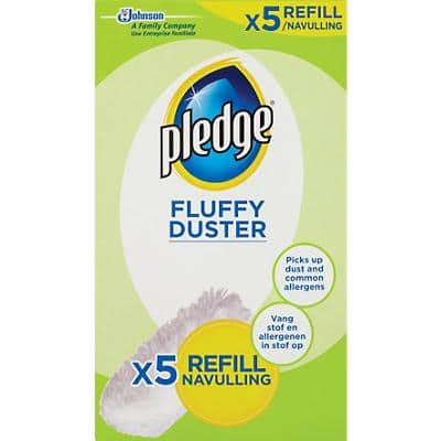 Pledge Fluffy Duster White Pack of 5