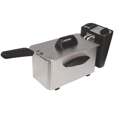 iGENIX Mini Fryer IG8015 18.5 x 33 x 19 cm Stainless Steel
