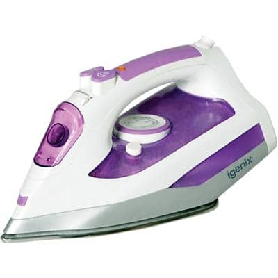 iGENIX Steam Iron IG3121 28 x 12 x 14 cm White