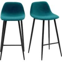 Paperflow Bar Stool Grey 2 Pieces