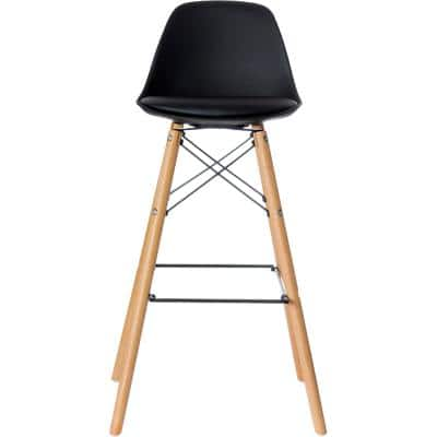 Paperflow Bar Stool Black 2 Pieces